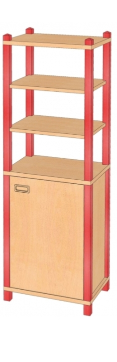 Stollenschrank Breite 56 cm, 180 cm Hoch