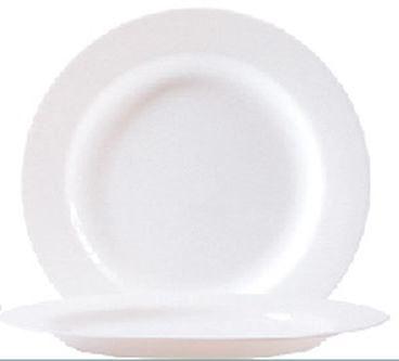 """Hartglasgeschirr """"Evolution"""" - Mittagsteller / Teller flach Ø 24,0 cm, H 22 mm"""