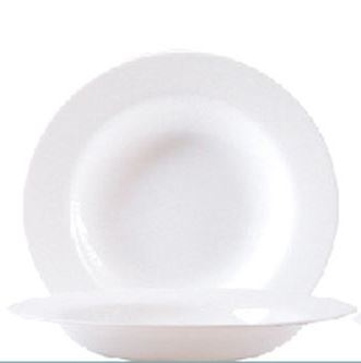 "Hartglasgeschirr ""Evolution"" - Suppenteller / Teller tief Ø 22,0 cm, H 28 mm"