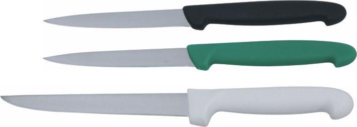 Profi-Universalmesser, Klinge 16 cm, GRÜNER Kunststoffgriff nach HACCP (Variante wählen)