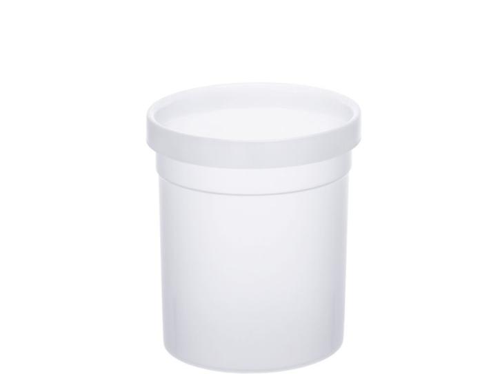 Papierkorb aus Polypropylen, 10 Liter, SCHWARZ, Ø 25 x H 27,5 cm