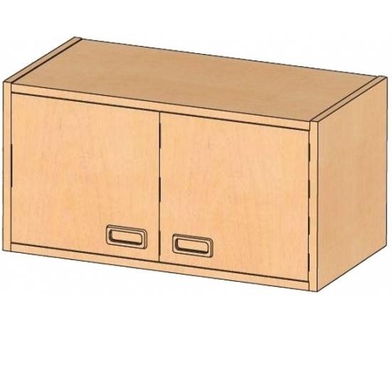 Aufsatz-/Hängeschrank, B/H/T 78 x 40 x 40 cm