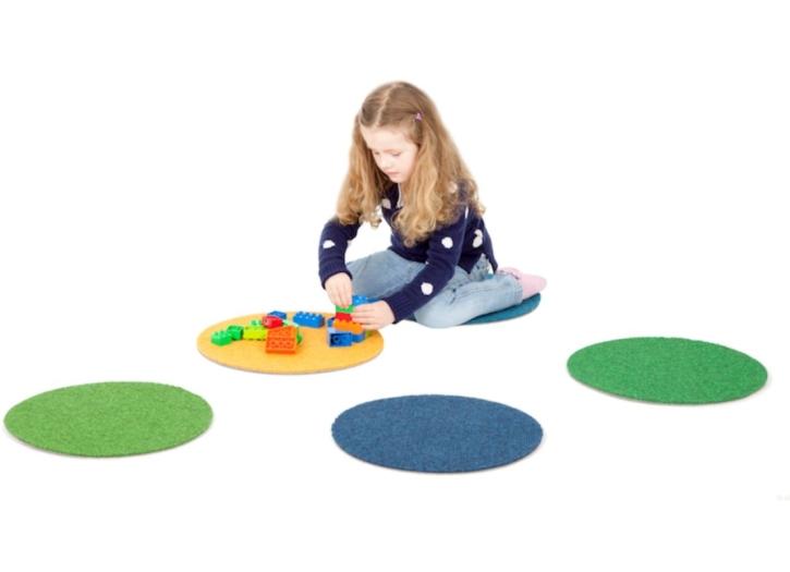 Tretford - Runde Sitzpads Ø 40 cm, 10er-Set