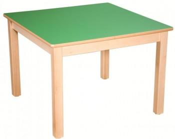 Quadrat-Tisch 80x80 cm, Formica-Tischplatte (Variante wählen)