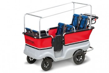 ELEKTRO Turtle-Kinderbus 6-Sitzer von Winther