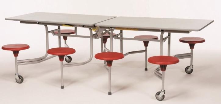 8-Sitzer rechteckig, Tischgröße 243,1 x 75,0 cm (Ausführung wählen)