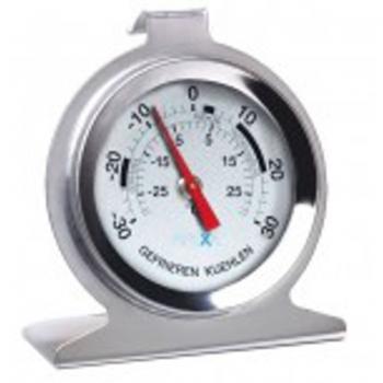 Kühlschrank- / Tiefkühl-Thermometer, analog, -30 bis +30 °C