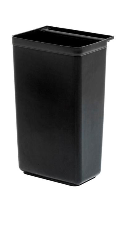 Abfallbehälter für Kunststoff-Servierwagen