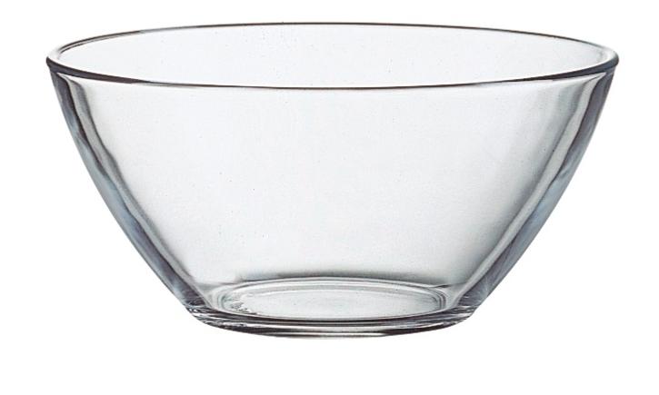 Abverkauf: Klarglas Serie Cosmos - Salatschale 56 cl, Ø 14 cm