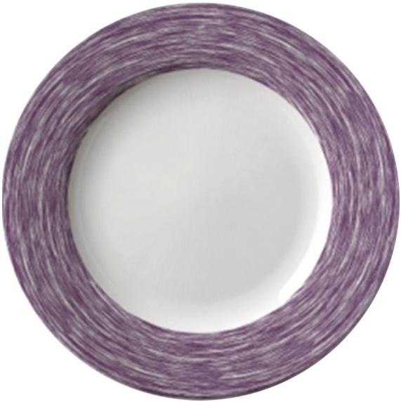 Suppenteller / Teller tief Ø 22,5 cm Brush LILA, Höhe 3,5 cm, stapelbar
