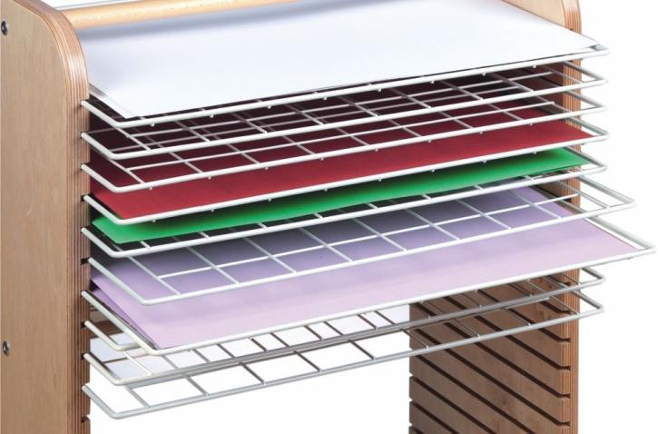 Trockengitter für Bildformate bis 70 x 50 cm, einzeln, B/T 73 x 50 cm