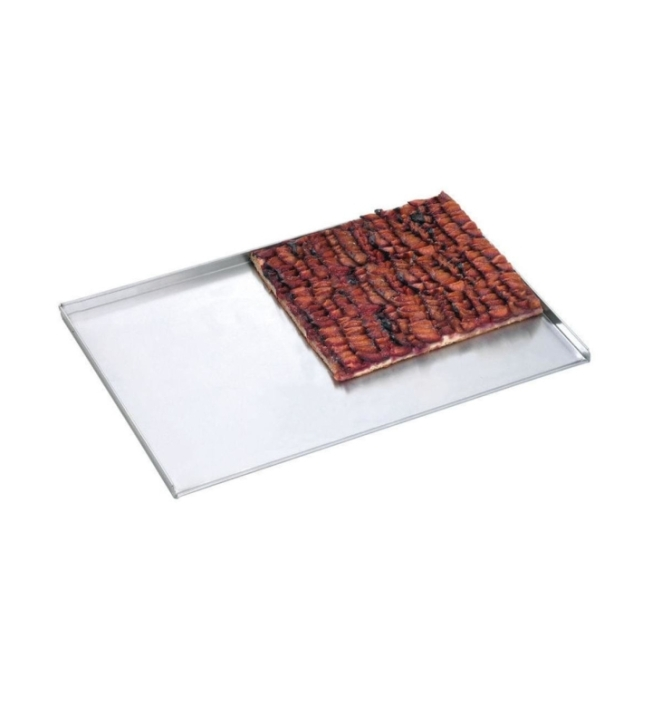 Backblech für Mehrzweck-Heißluftofen (145-032), B/T/H 400 x 280 x 11 mm