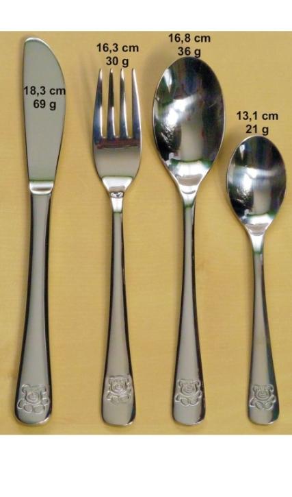 Kinderbesteck Timmy - Messer ungezahnt, 18,3 cm, 69 g