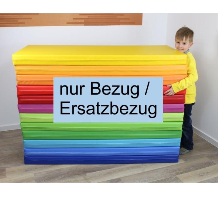 (Ersatz-)Bezug für Liegepolster-Schaumstoff, beidseitig Kunstleder (Größe, Farbe wählen)