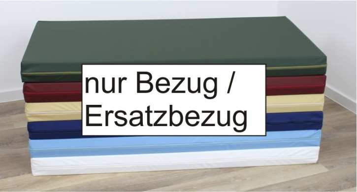 (Ersatz-)Bezug für Liegepolster-Schaumstoff aus wasserundurchlässigem Polyurethan (Größe, Farbe wählen))