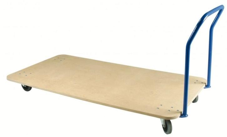 Mattentransportwagen Standard, Tragkraft 200 kg, Breite 100 cm, Länge wahlweise 100 / 150 / 200 cm