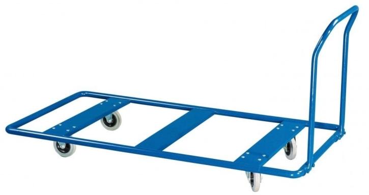 Mattentransportwagen, Tragkraft 500 kg,  Breite 100 cm, Länge 200 cm, ohne Holzplatte