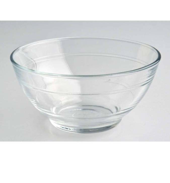 Glasgeschirr transparent - (1) Müslischale 0,51 Liter, Ø 135 x H 65 mm