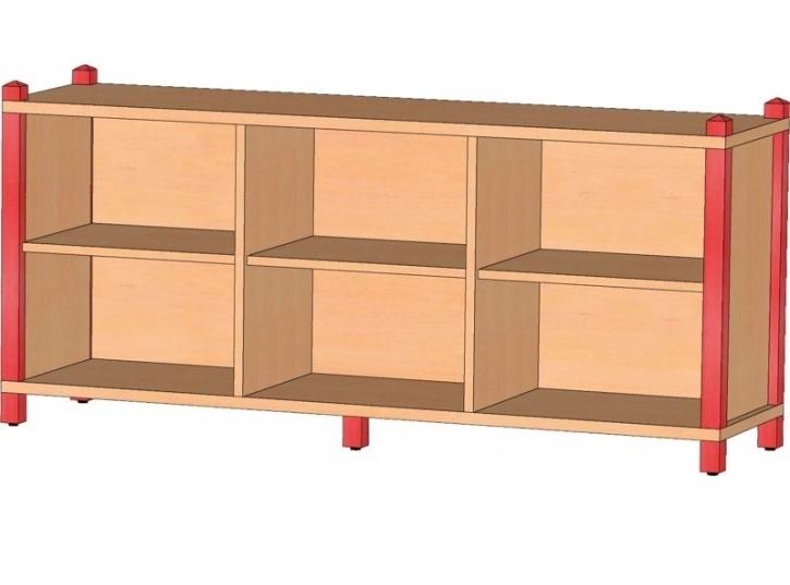 Raumteiler, B/H/T 156 x 60 x 40 cm