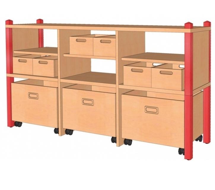 Raumteiler, B/H/T 156 x 80 x 40 cm