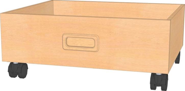 Rollkasten B/T/H : 46 x 40 x 19 cm