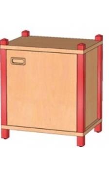 Stollenschrank Breite 56 cm, 60 cm Hoch