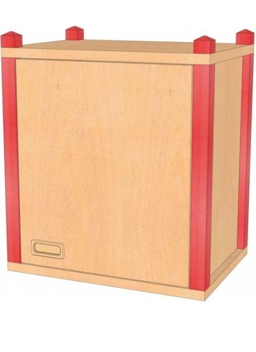 Stollenaufsatz-/ hängeschrank, B/H/T 56 x 60 x 40 cm