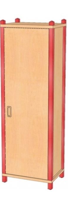 Stollenschrank Breite 56 cm, 160 cm Hoch