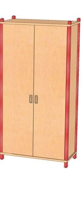 Stollenschrank Breite 82 cm, 120 cm Hoch