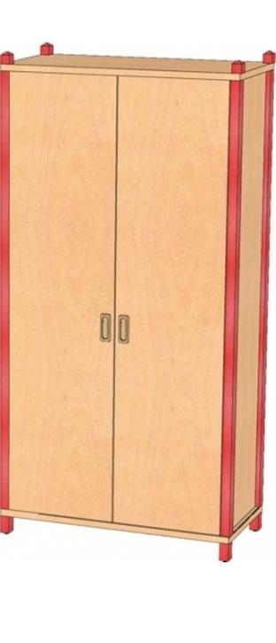 Stollenschrank Breite 82 cm, 160 cm Hoch