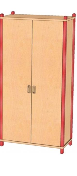Stollenschrank Breite 82 cm, 180 cm Hoch