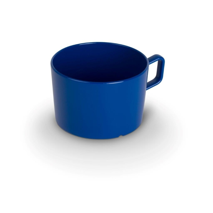 "Kunststoffgeschirr ""Kinderzeug"" - (2) Tasse BLAU 0,2 Liter, Ø 75 x H 50 mm"