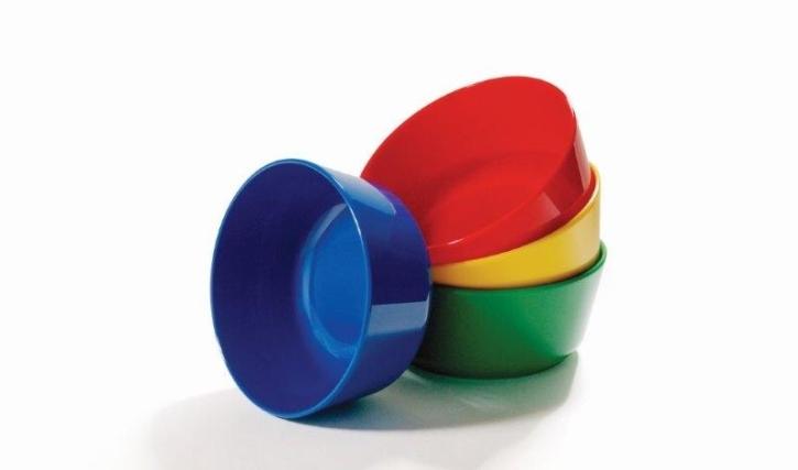 Kunststoffgeschirr aus POLYPROPYLEN - Müslischale Ø 110 x H 50 mm  (Farbe wählen)