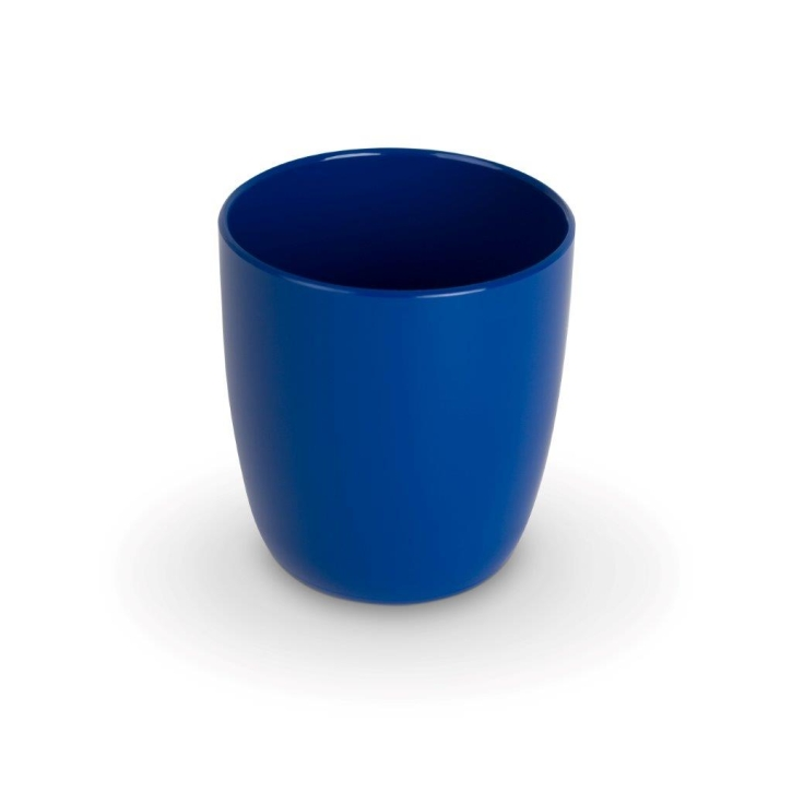 "Kunststoffgeschirr ""Kinderzeug"" - (4) Kinderbecher BLAU 0,18 Liter, Ø 65 x H 75 mm"