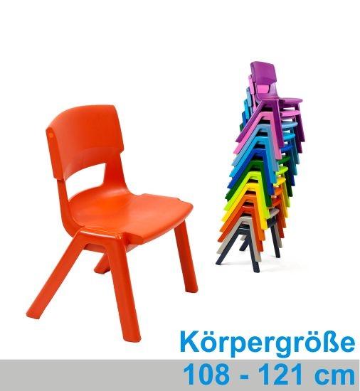 POSTURA+ Kunststoffstuhl - Sitzhöhe 31 cm
