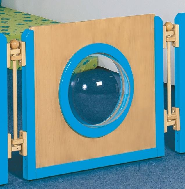 Raumteiler Froschauge, B/H/T 70,5 x 60 x 4/18 cm
