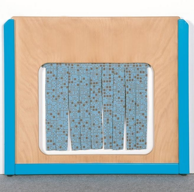 Raumteiler Stoffdurchgang, B/H/T 70,5 x 60 x 4 cm
