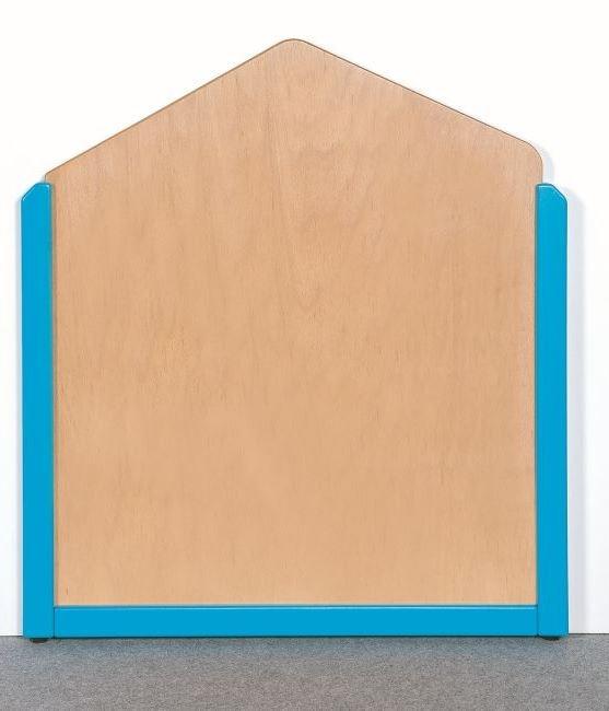 Raumteiler 5-Eck, B/H/T 70,5 x 60/80 x 4 cm