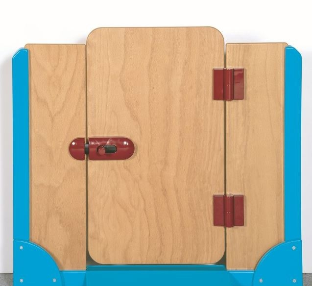 Raumteiler Tür, B/H/T 70,5 x 60/64 x 4 cm
