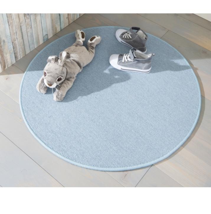 GEKETTELTER Tretford-Teppich RUND - Größen bis Ø 400 cm möglich