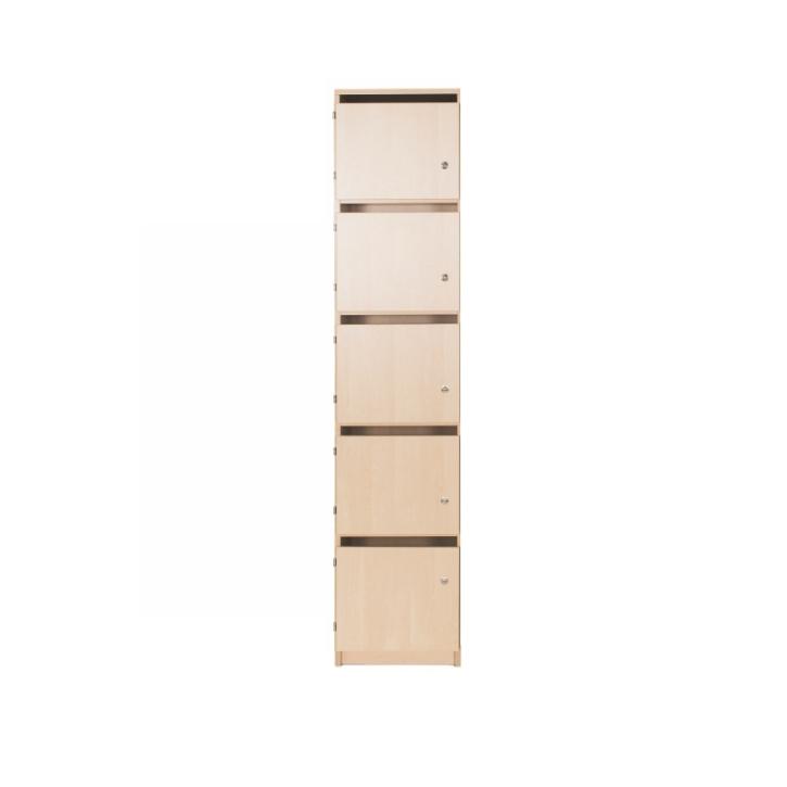 Lehrerschließfachschrank mit Briefschlitz 1-reihig, Breite: 41 cm, Höhe: 190 cm (Variante wählen)