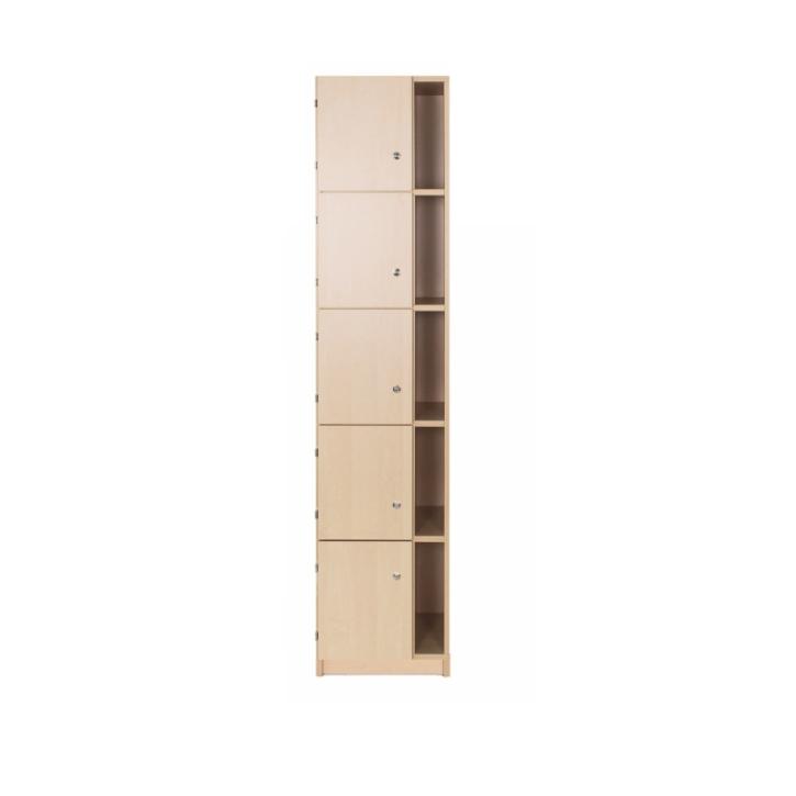 Lehrerschließfachschrank mit Postfach 1-reihig, Breite: 41 cm, Höhe: 190 cm (Variante wählen)