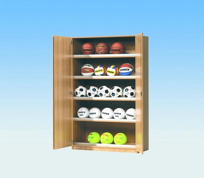 Ballschrank, B/H/T: 120 x 190 x 50 cm