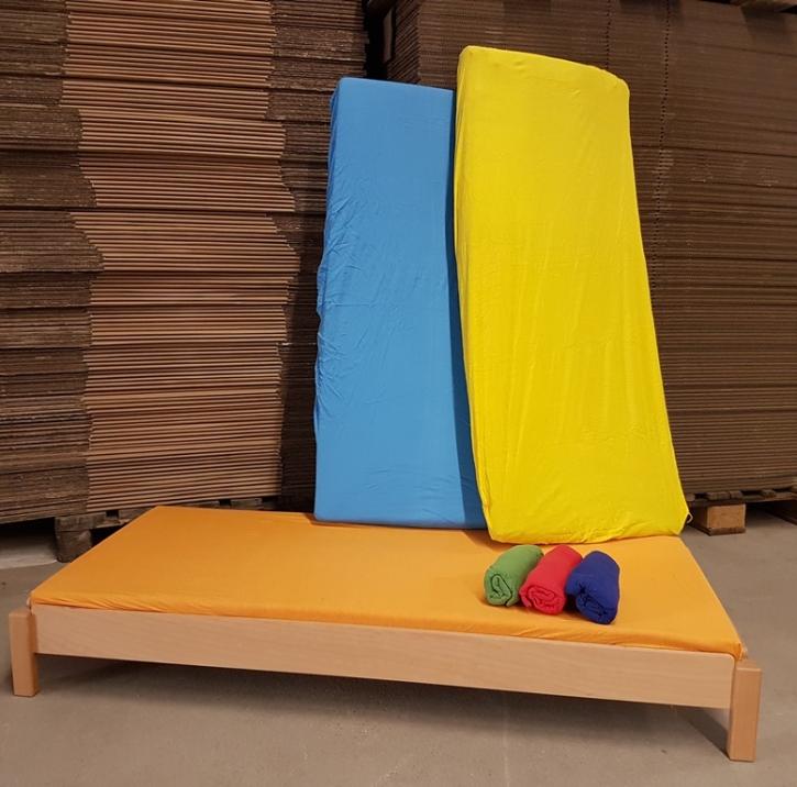 Abverkauf: Spannlaken ca. 60x140 cm (Farbe wählen)