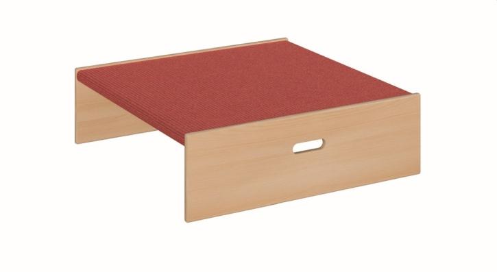 Quadrat klein, 2-seitig offen, B/H/T 78 x 24 x 78 cm