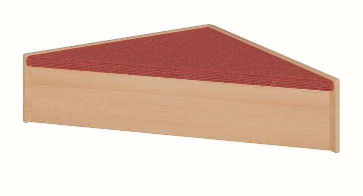 Dreickspodest, B/H/T 78 x 24 x 78 cm