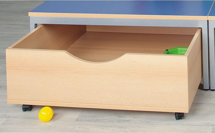 Rollkasten für Riesenpodest, B/H/T 90 x 32 x 90 cm