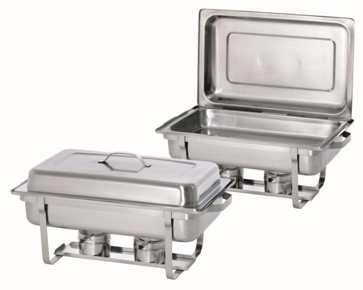 Chafing-Dish-Set 1/1 BP, B/T/H 610 x 355 x 300 mm