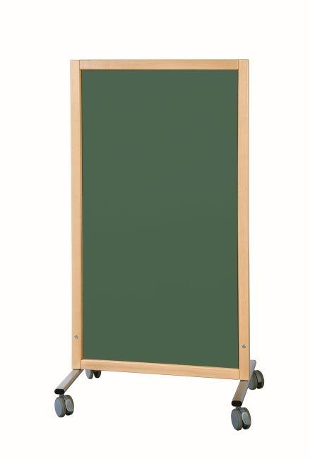 Trennwand Tafel grün, B/H/T 74 x 137 x 50 cm
