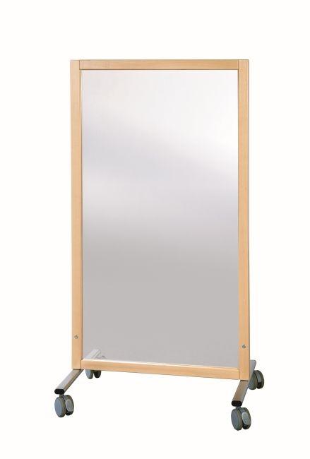 Trennwand Spiegel, B/H/T 74 x 137 x 50 cm